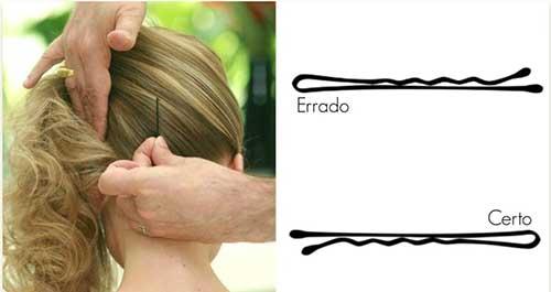 aprenda a usar grampos de cabelo com video docescachos