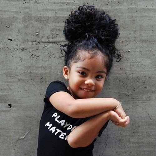 cabelo infantil volumoso bonito