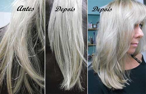 vinagre de maça em cabelo sujo ou seco