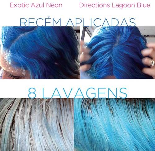 tintura azul exotic criativ especial