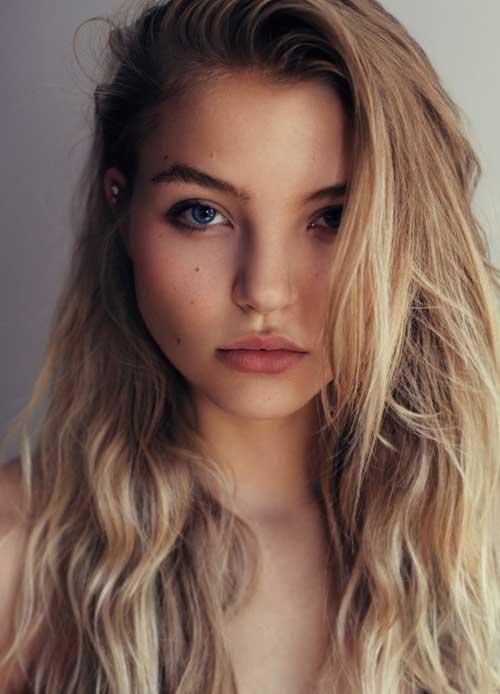 cabelo natural bem lavado