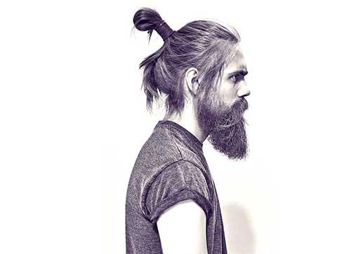 cabelo longo de coque