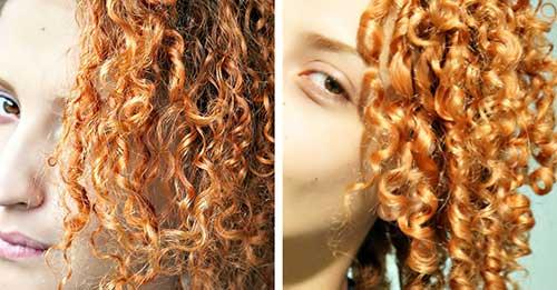 tratamento para cabelo cacheado ruivo feito em casa