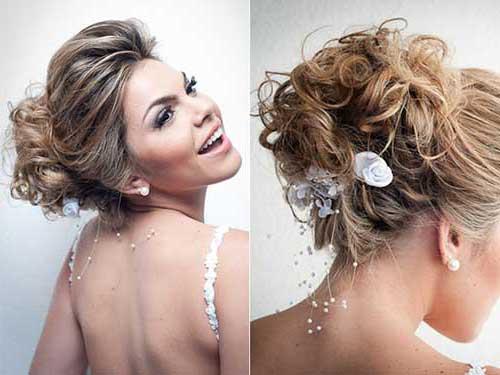 penteado tipo coque bagunçado para casar