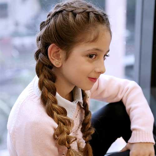 penteado infantil pra festa junina