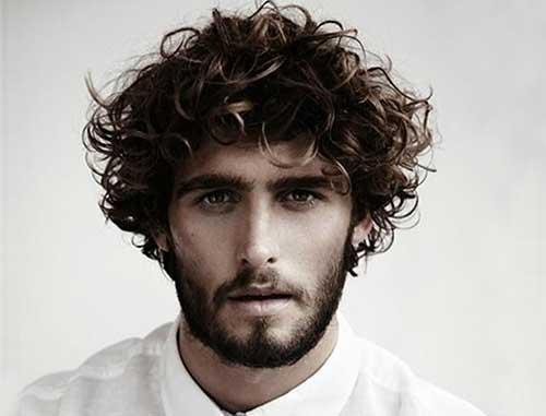 cabelo cacheado dos homens com cuidados unissex
