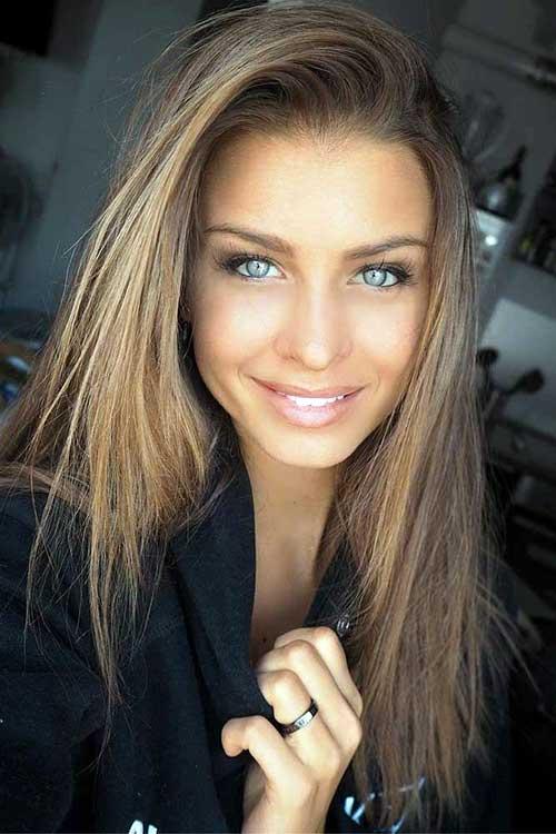 fotos de cabelos com tons de loiro escuro