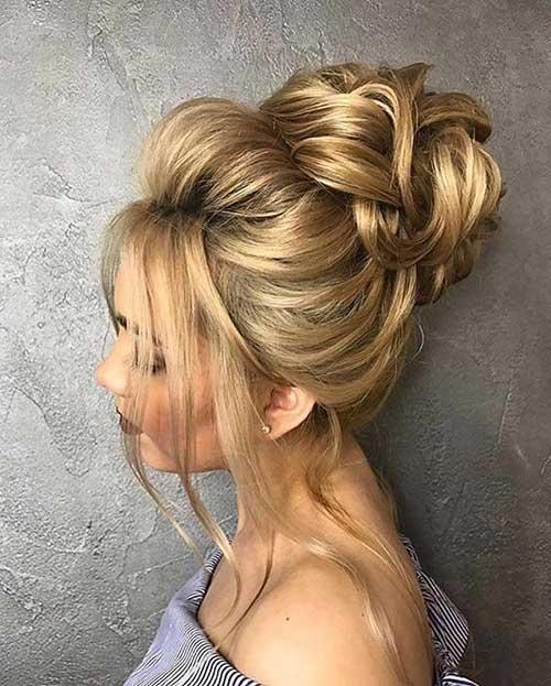 penteado com coque para noiva