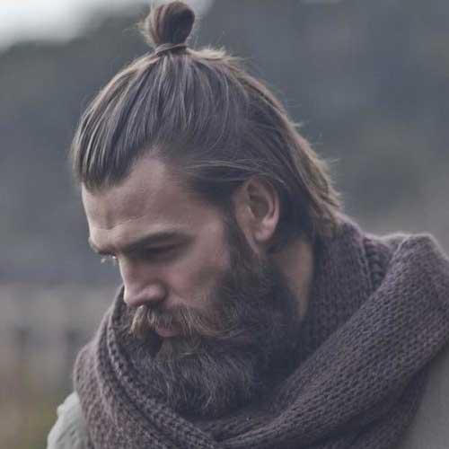 coque masculino samurai em homem de barba