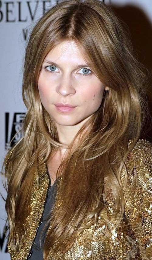 cabelos escuros loiros dourados