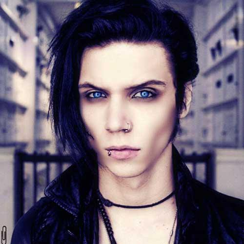 cabelo emo de vampiro