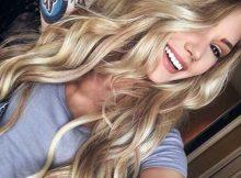 cabelo loiro natural feminino