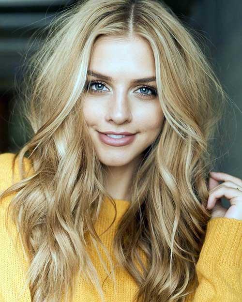 cabelo loiro mel bonito