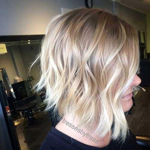 ombre hair em cabelo loiro curto