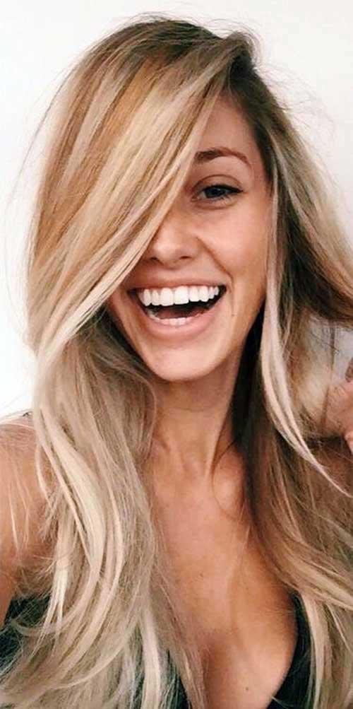 madeixas com mechas beach hair do tumblr