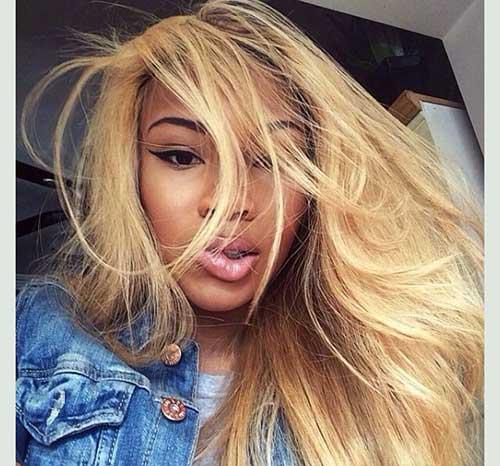 cabelo de aplique loiro natural