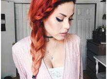 foto de fire ombre hair