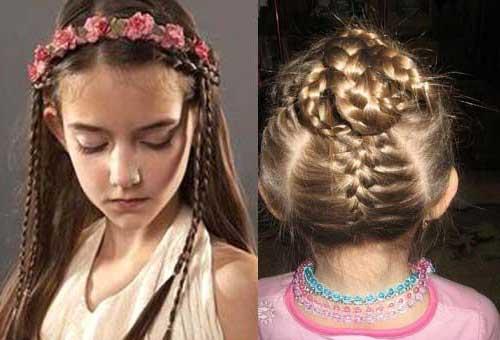 penteado infantil pra menina em aniversario