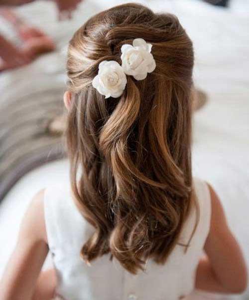 penteado infantil pra daminha de casamento