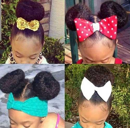 penteado preso infantil pra cabelo crespo