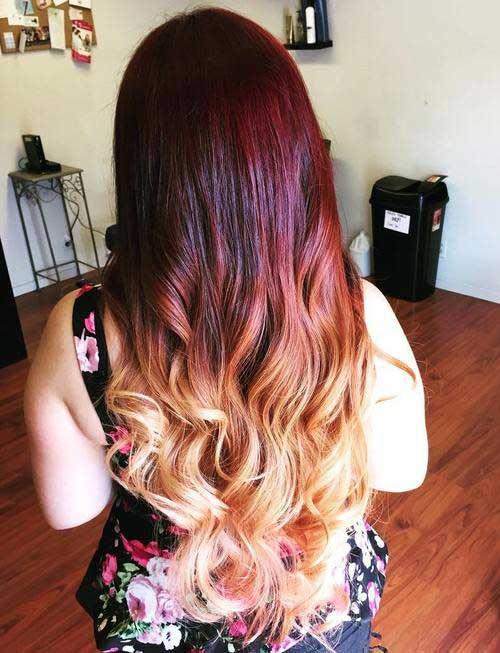 43 Fotos De Ombr 233 Hair Vermelhos Tutorial Passo A Passo