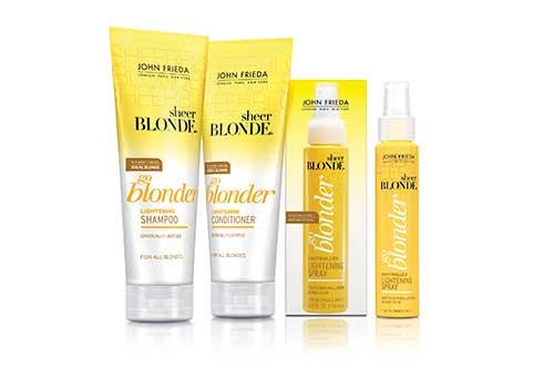 produto para cabelo loiro natural com quimica clareadora