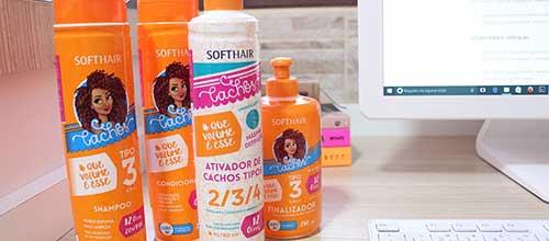 tutorial passo-a-passo de como usar linha cachos tipo 3 da soft hair