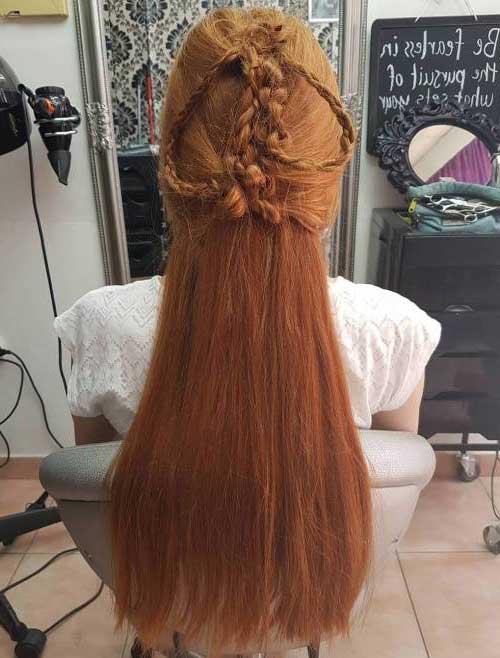cabelo estilo sansa