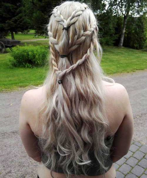 cabelo inspirado na princesa