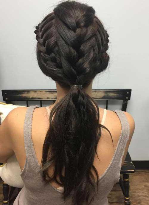 penteado inspirado na daenerys