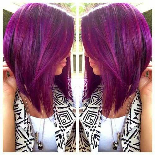corte de bico violeta