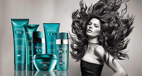 cabelos danificados se curam com kerastase resistance