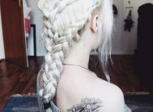 penteados com tranças da tv