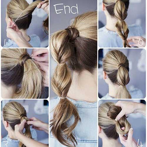 penteado simples para festa de formatura