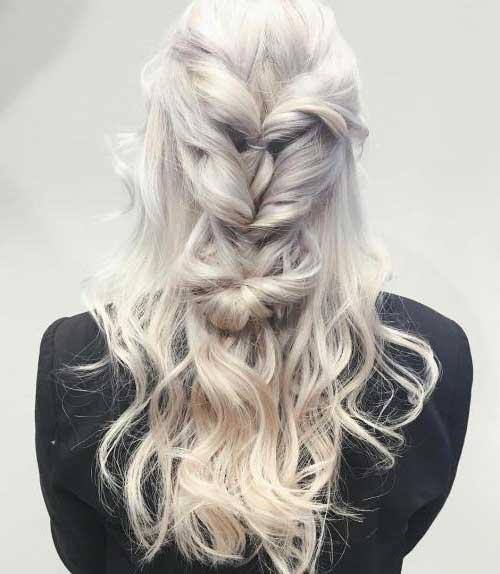 penteado no cabelo da daenerys