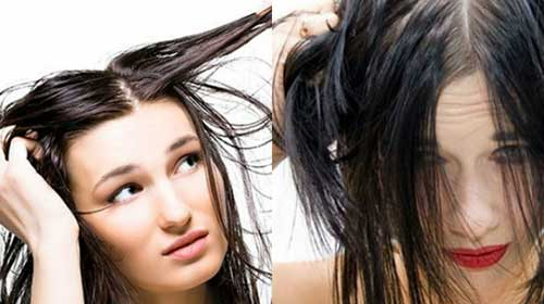 como solucionar a oleosidade dos cabelos