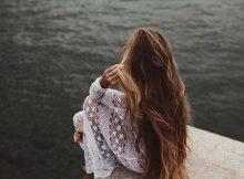 cabelos crescidos a base de oleo de coco