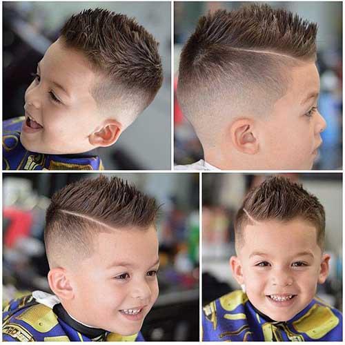 corte de cabelo masculino infantil 2018 com listra
