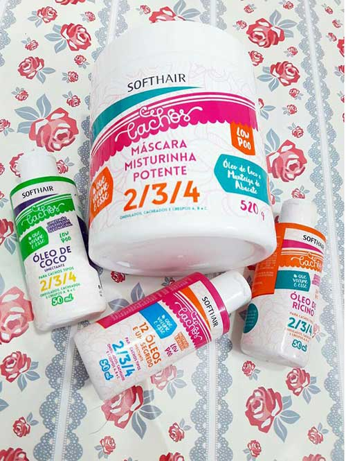 kit bom de produtos soft hair