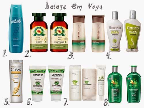 produtos de qualidade para cabelos oleosos