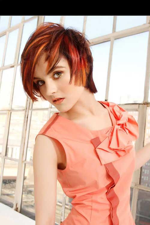 cabelos nas cores do por-do-sol para o verao