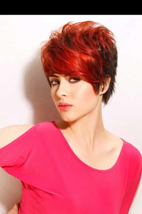 cabelo vermelho fogo bonito