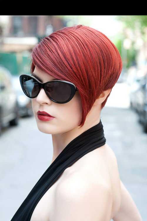 cabelo vermelho acobreado num tom mais frio