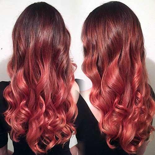 cabelo vermelho cuidado em casa e no salão