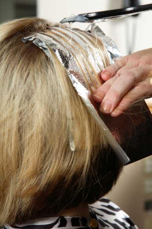 salao de beleza para mudar cor de cabelo