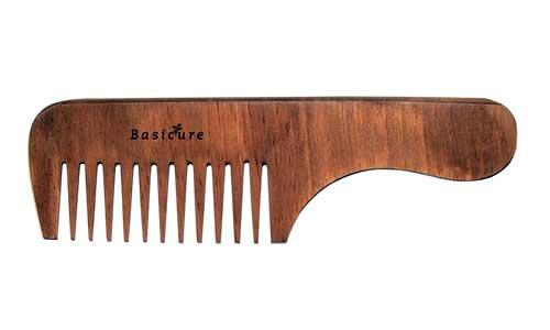 pente de madeira anti-frizz
