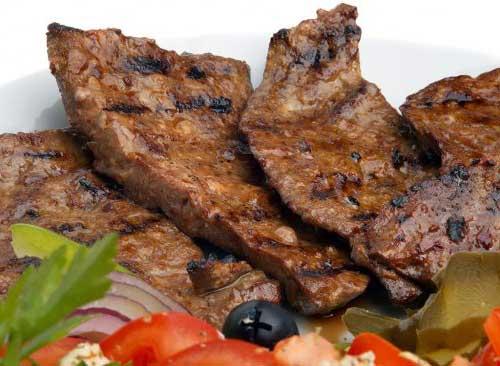 carne de figado tem nutrientes que acabam com a queda