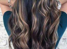 cabelos com luzes caseiras bonitas