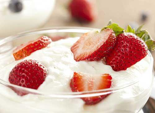 iogurte faz o cabelo parar de cair