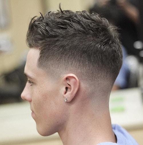 cabelo masculino curto 2019 bagunçado